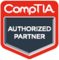 CompTIA authorized partner badge